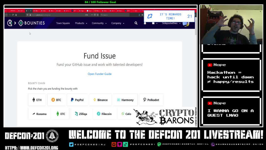 Crypto Barons Episode 17 Git Good At Programming With Gitcoin Diode Zone