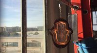 Solar Powered Hamsa by Extra Content with tuco and scanlime